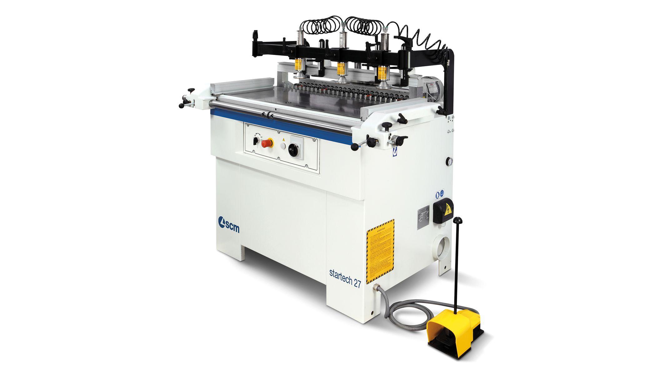 startech 614 semi automatic boring machine