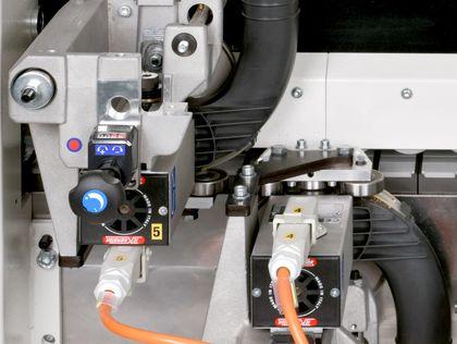 rapid machine changeover edgebander