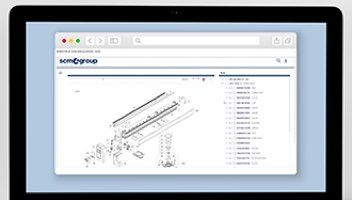 interactive spare parts catalogue image